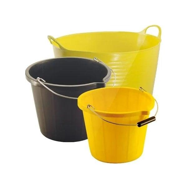 Buckets, Tubs & Bins